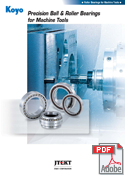 Precision Ball & Roller Bearings for Machine Tools