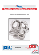 Tapered Roller Bearings, Tapered Thrust Bearings