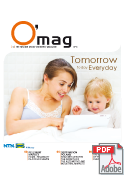 O'mag n°8: Tomorrow Today Everyday