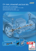 CV-Joint, Driveshaft and Boot Kits