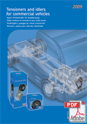 Tensioners and Idlers for Commercial Vehicles